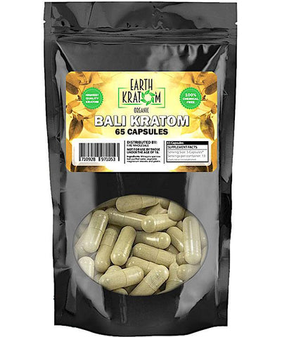 Earth Kratom 65Ct Capsules (SELECT PIC FOR MORE OPTIONS)****