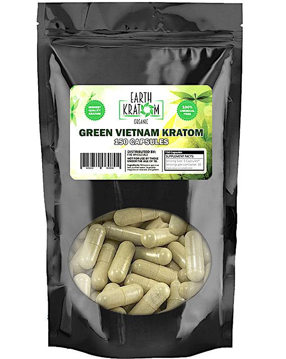 Earth Kratom 150Ct Capsules (SELECT PIC FOR MORE OPTIONS)****