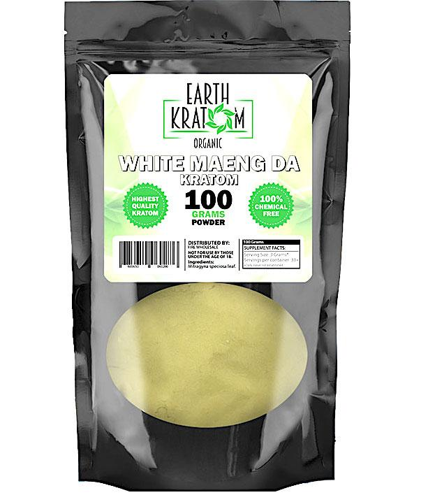Earth Kratom 100G Powder (SELECT PIC FOR MORE OPTIONS)****