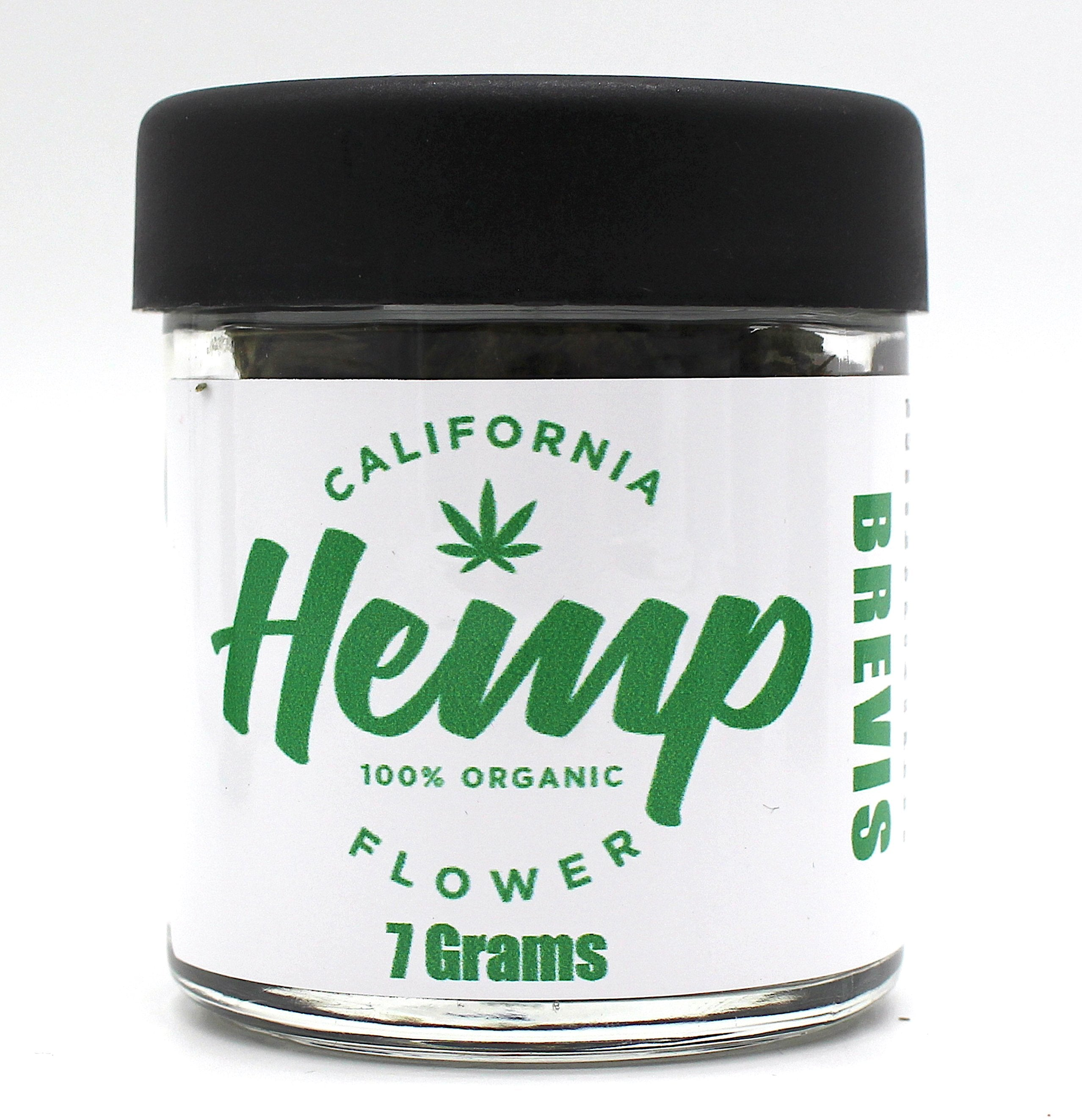 California Hemp Flower Organic 7 grams