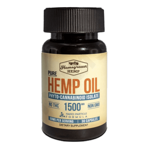 Homegrown Hemp Oil 1500 MG