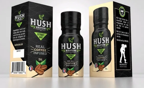 Hush Extract Coffe Infused Tincture 10ML-12 ct