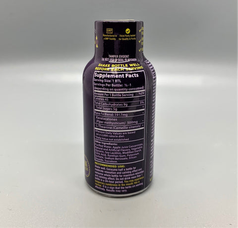 Kava FX Fruit Fusion Liquid Shot 2oz