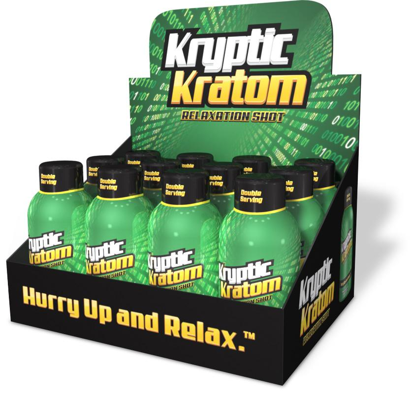 KRYPTIC KRATOM SHOTS Single