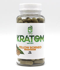 NJOY KRATOM  75ct capsules  (SELECT PIC FOR MORE)