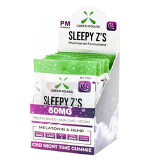 Green Roads Sleepy z's cbd 50mg GUMMIES (SELECT PIC FOR MORE OPTIONS)