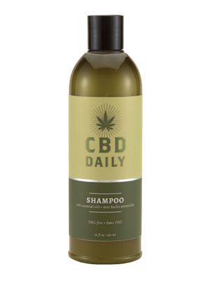 CBD DAILY Infused cbd Shampoo 16oz Organic