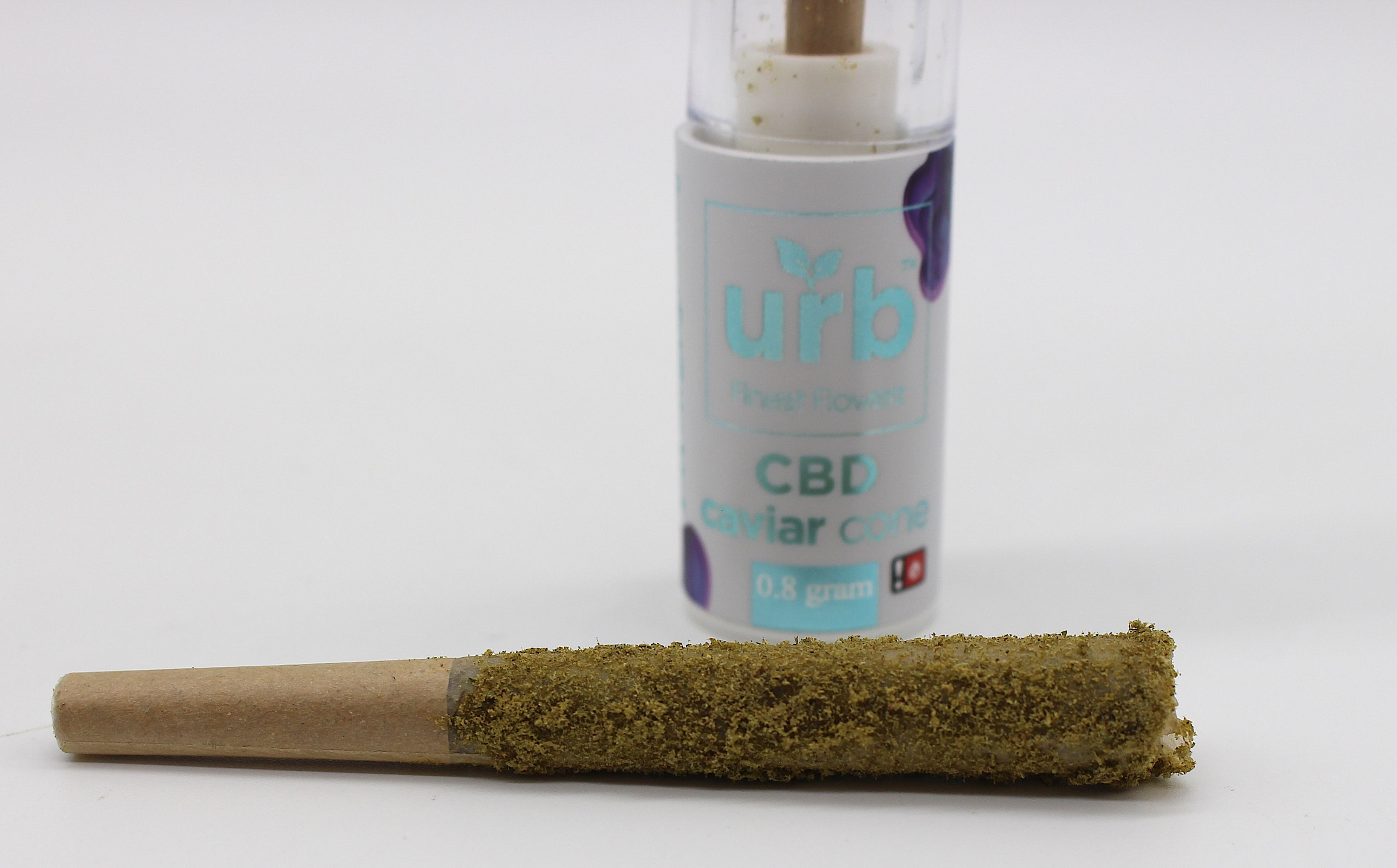 Urb Finest Flower -0.8g Kief Coated Caviar Cones