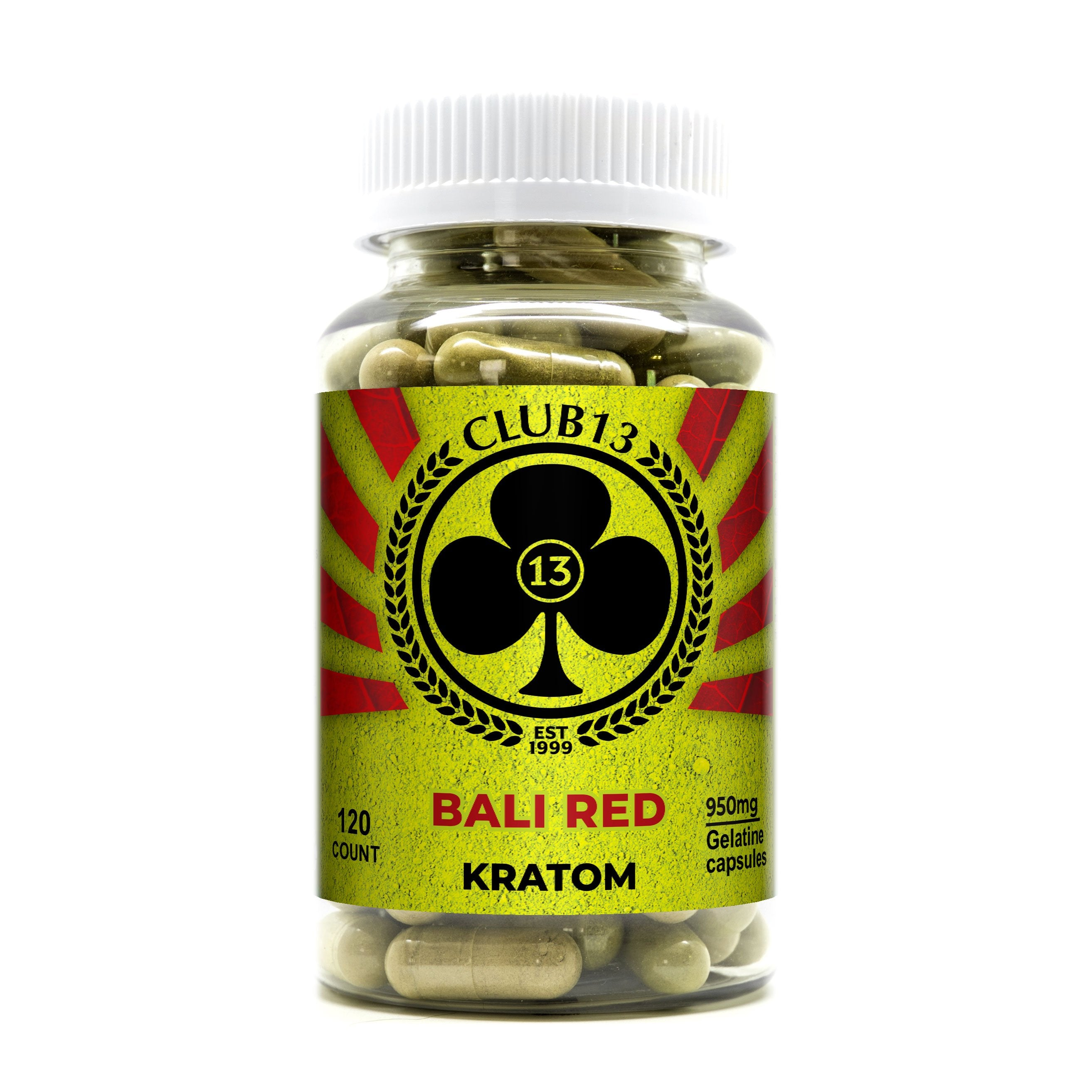 Club13 Kratom 120ct Jumbo Capsules (SELECT PIC FOR MORE OPTIONS)
