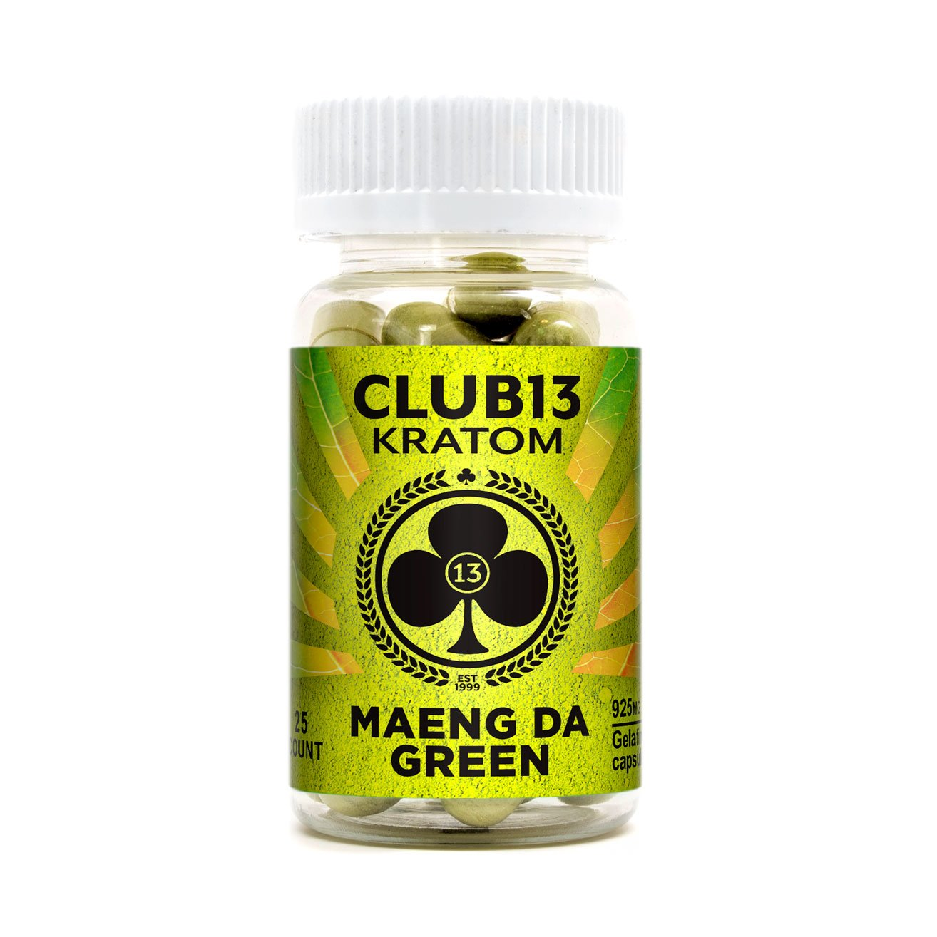 Club13 Kratom 25ct Jumbo Capsules (SELECT PIC FOR MORE OPTIONS)