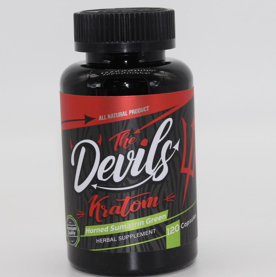 The Devils Kratom 120 Capsules****
