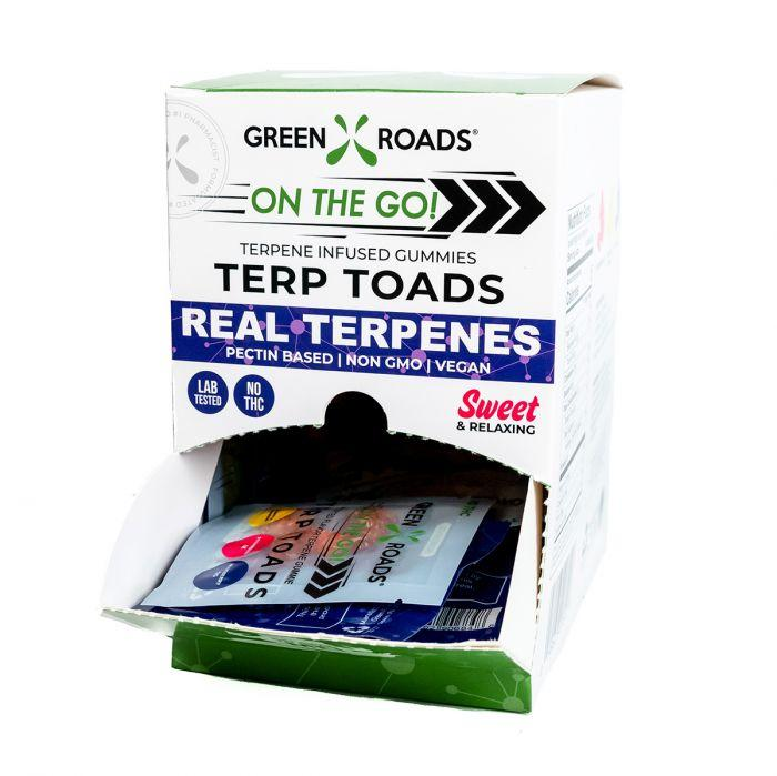 Green Roads Terp Toads cbd froggies  20mg 30cnt per case