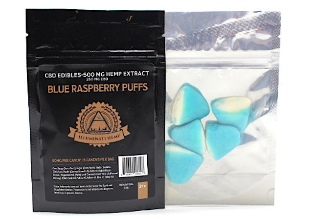 Illuminati CBD Edibles 500mg Hemp Extract (5ct)