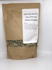 Kratom Bulk Capsules 1kg ((SELECT PIC FOR MORE OPTIONS))
