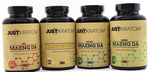 Just Kratom  150ct Capsules