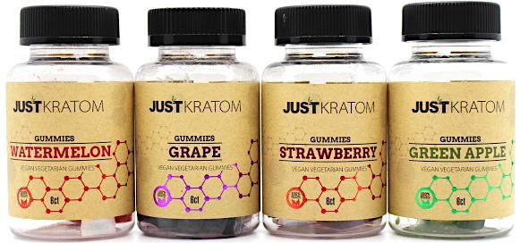 Just Kratom Gummies  6pc 120mg