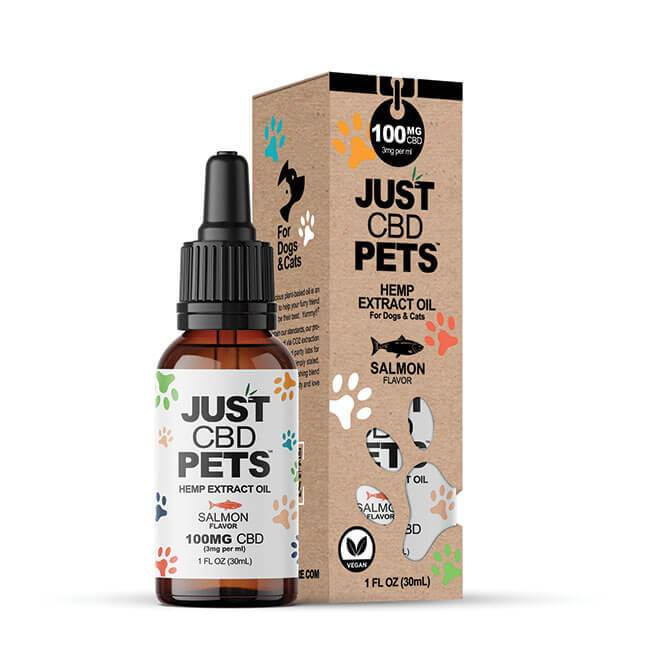 JUST CBD Pets Hemp Extract Oil  100mg