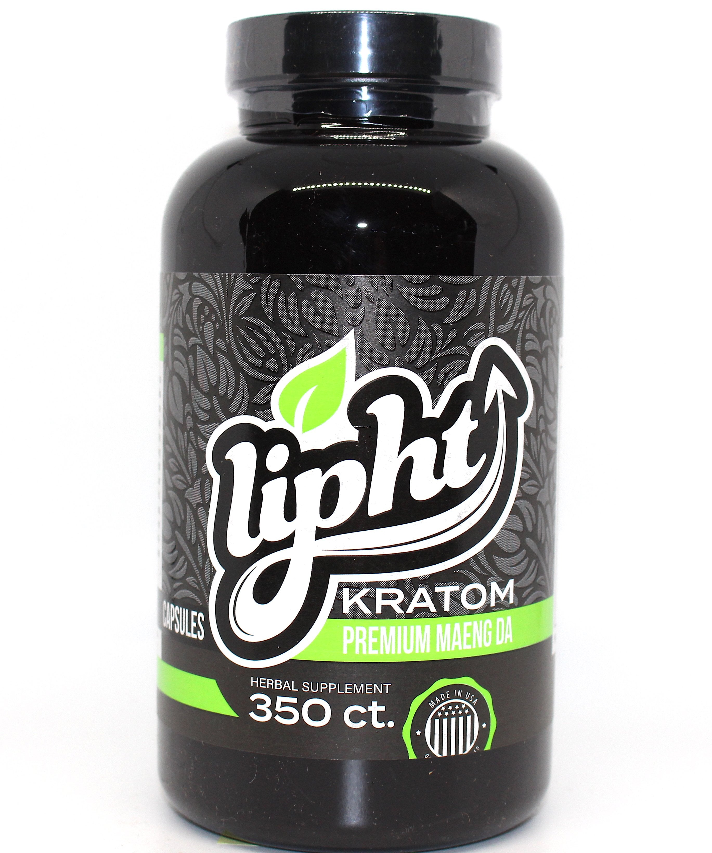 Lipht Kratom Premium  350ct (SELECT PIC FOR MORE OPTIONS)