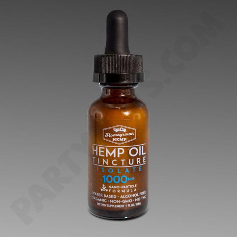 Homegrown Hemp Oil Tincture (SELECT PIC FOR MORE)