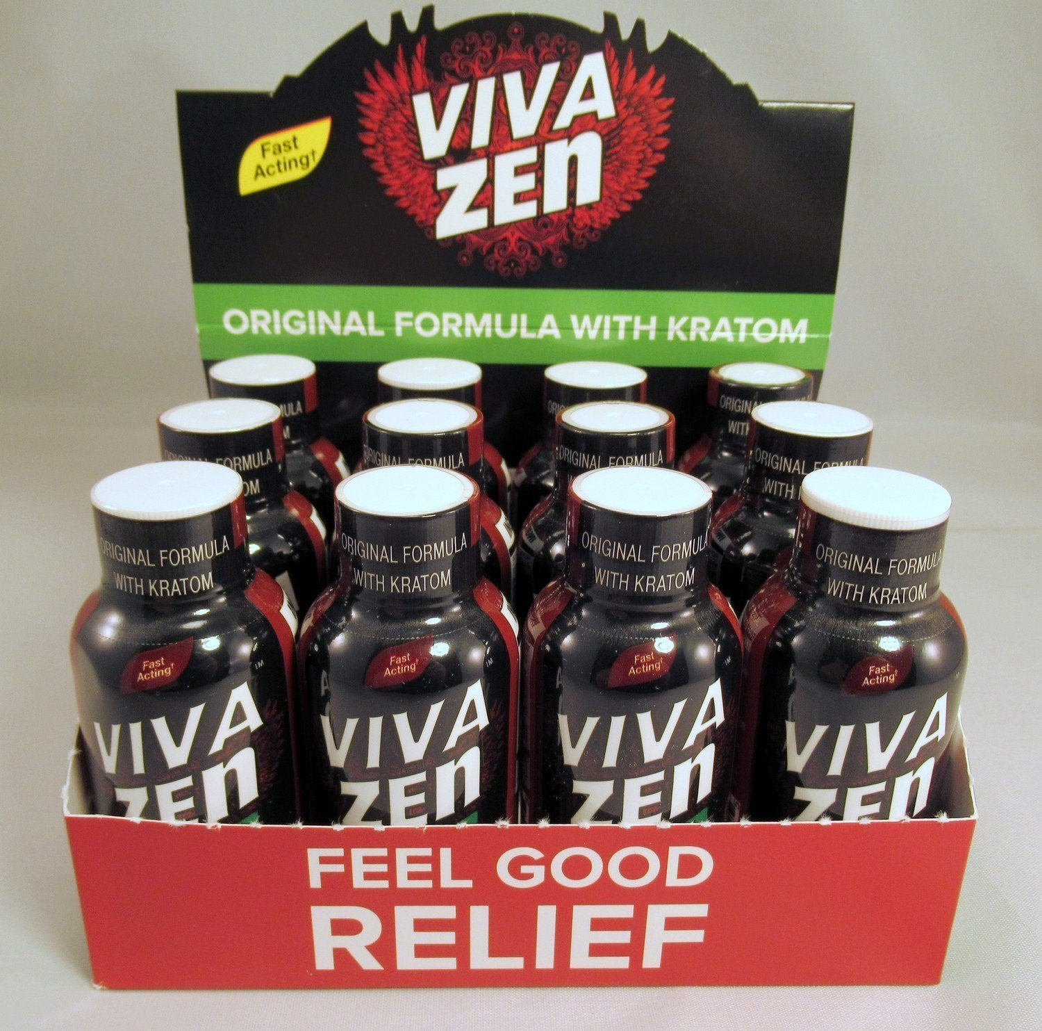 Viva Zen Kratom 1.9oz  bottle