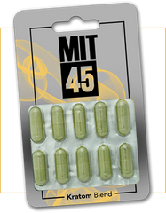 Mit 45 Silver 10 ct capsule Enhanced  Extract 12cnt per case