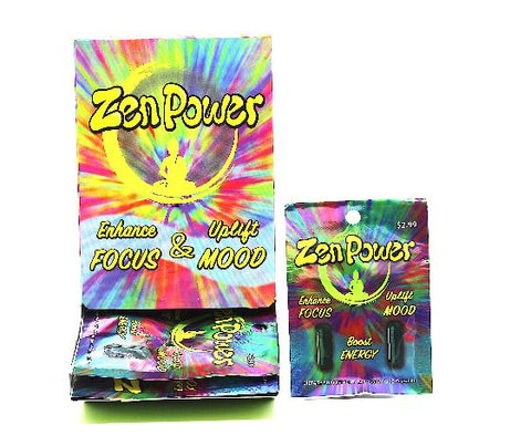 Zen Power  Enhance Focus & Uplift Mood SAME AS SLEP WALKER Single pack 2ct