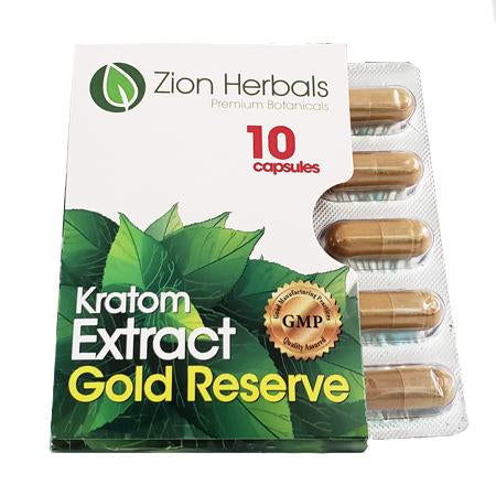 Zion Herbals  Gold Extract Reserve Blister