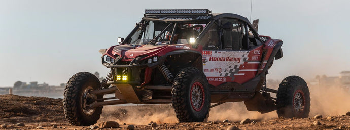 HONDA OFF-ROAD FACTORY RACING TALON WINS CLASS ON LONGEST EVER SCORE BAJA 1000 LOOP COURSE