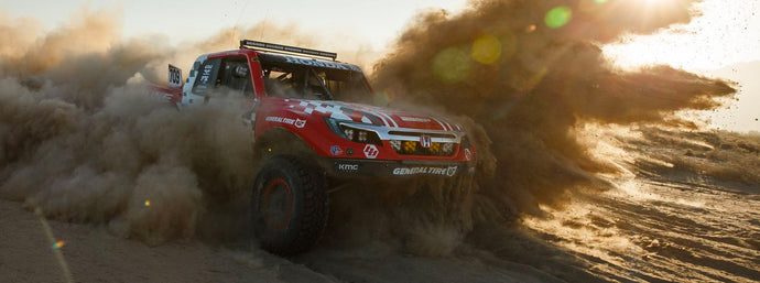 BACK TO BACK SCORE BAJA 500 WINS FOR TEAM HONDA RACING OFF-ROAD RIDGELINE AND FIRST EVER BAJA PODIUM
