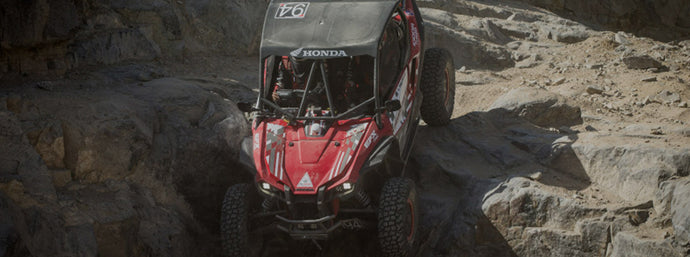 IMPRESSIVE FINISHES FOR HONDA TALONS AT THE 2020 KING OF THE HAMMERS UTV RACE