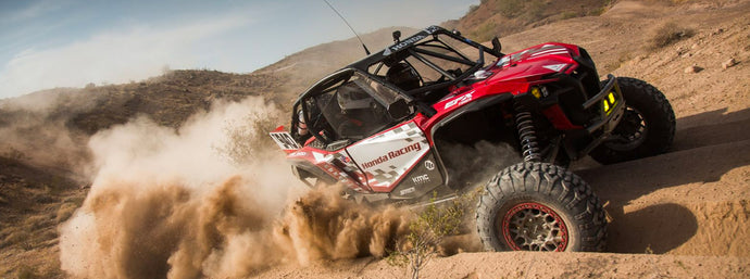 TEAM HONDA RACING OFF-ROAD HONDA TALONS SCORE TOP 10 FINISHES IN UTV WORLD CHAMPIONSHIPS  DESERT PRO
