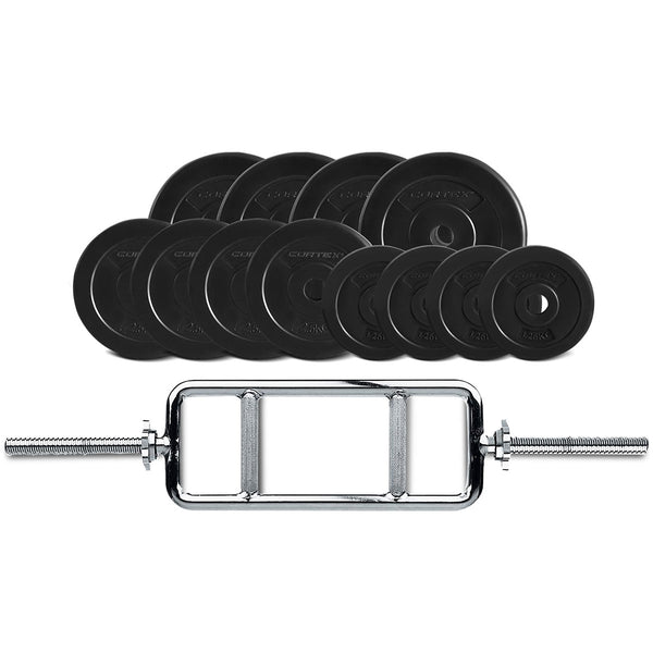 40kg Tri bar Weight Plate Set