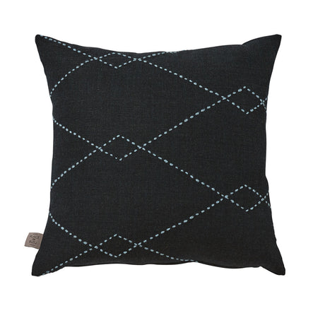 Berber Square – Black/Blue
