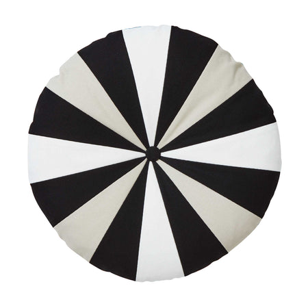 Luna Cushion – Black/Cream