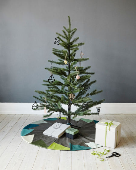 Ferfera Christmas Tree Mat – Blue - Place de Bleu