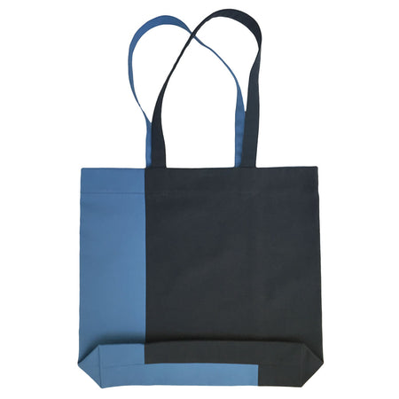 Twist Tote – Dark Blue/Blue - Place de Bleu