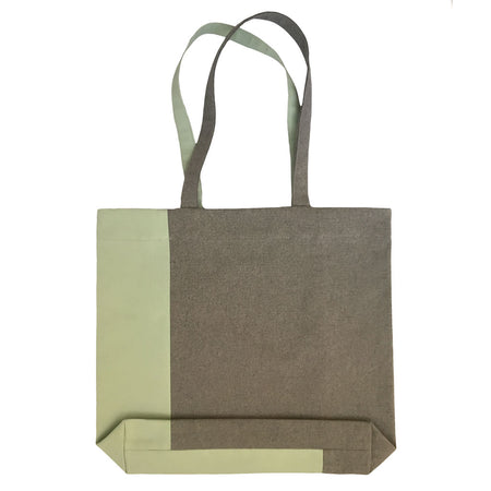 Twist Tote – Dark Olive/Light Green - Place de Bleu