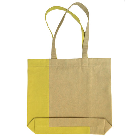 Twist Tote – Olive/Lime - Place de Bleu