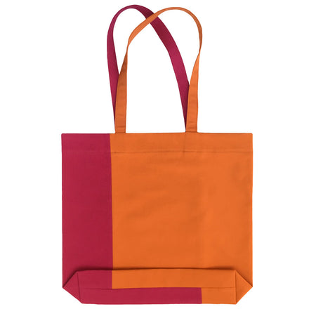 Twist Tote – Orange/Magenta - Place de Bleu