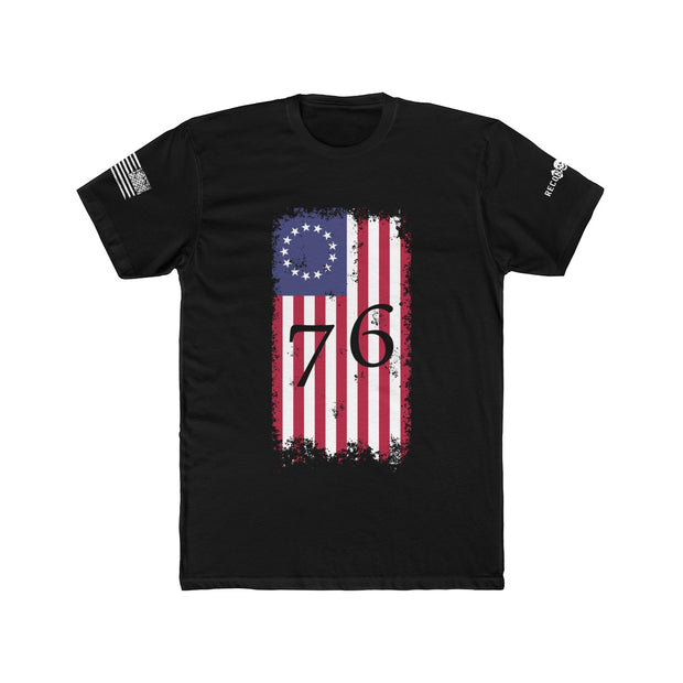 Men's T-Shirt - Betsy Ross 76 Flag