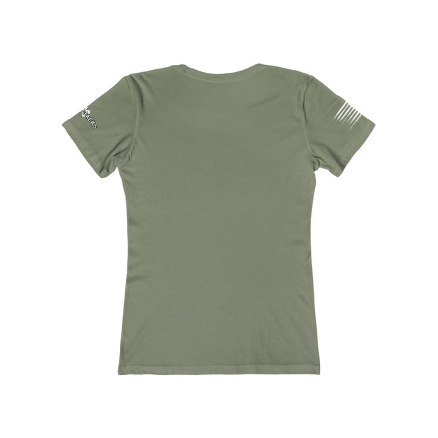 Women's Feminine Cut Tee - All American Bombshell