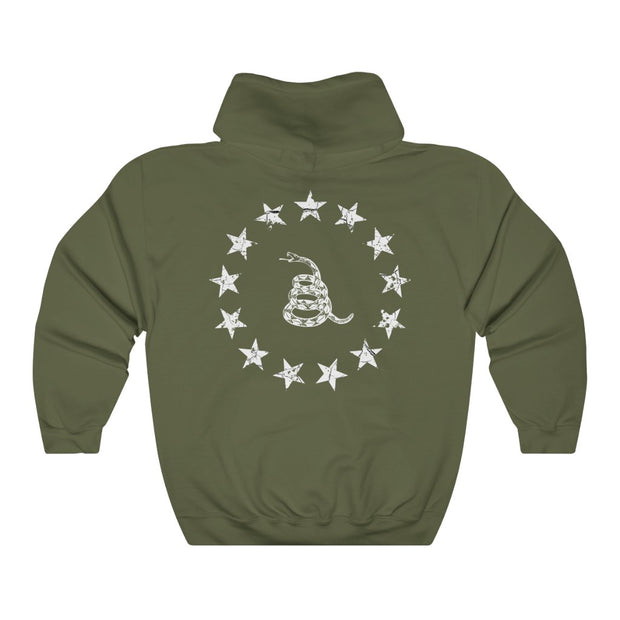 Men's Hooded Sweatshirt - The Never Surrender Hoodie