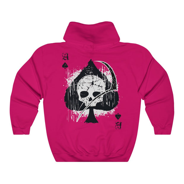 Women's Hoodie - Ace of Spades Death Card