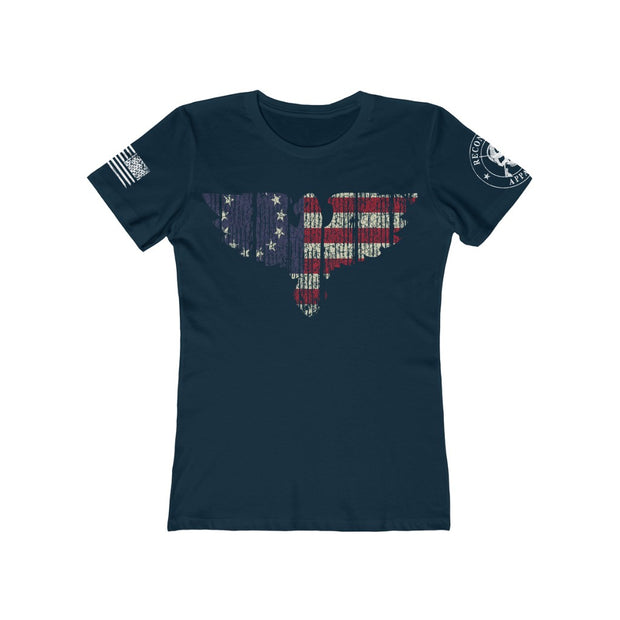Women's Feminine Cut Tee - Betsy Ross Eagle