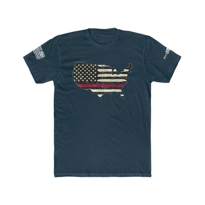 Men's T-Shirt - Thin Red Line USA
