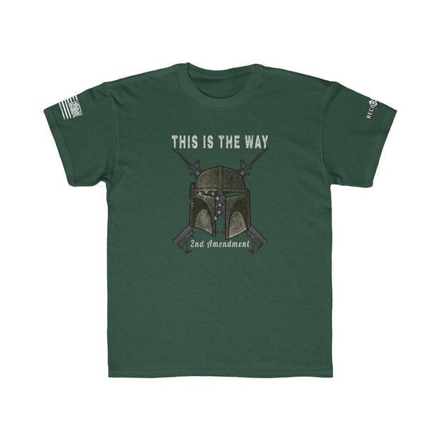 Youth T-Shirt - This Is The Way 2nd Amendment