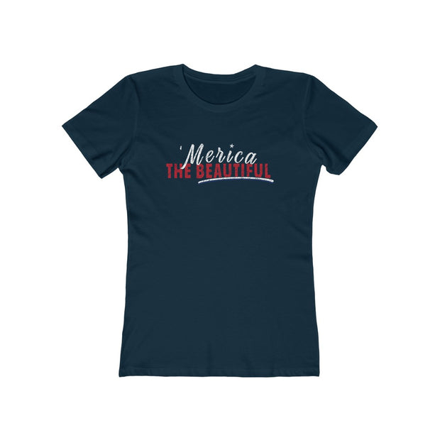 Women's Feminine Cut Tee - 'Merica The Beautiful
