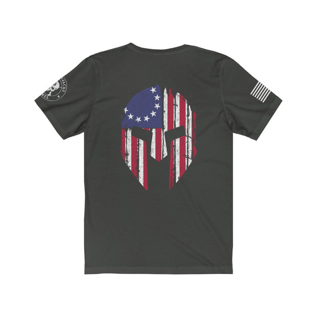 Men's T-Shirt - Betsy Ross & The Spartan