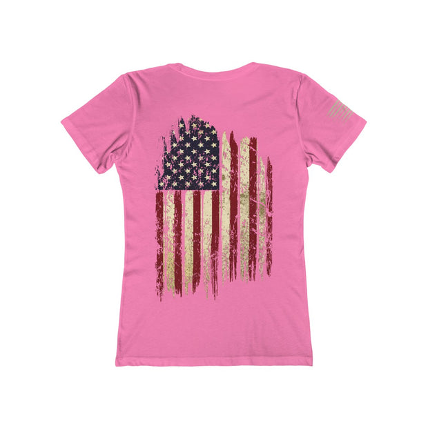 Women's Boyfriend Tee - Old Glory