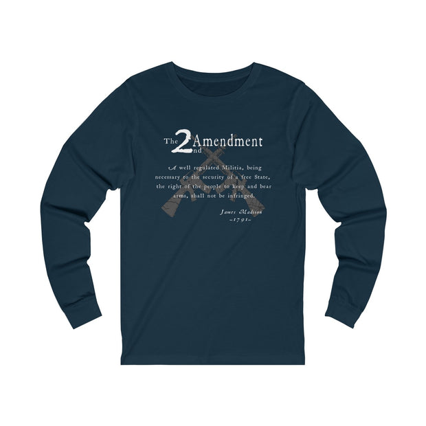 Women's Jersey Long Sleeve Tee - 2nd Amendment
